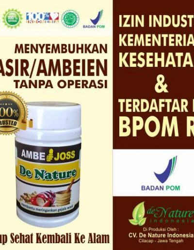Ambejoss - De Nature Indonesia 085888818587 0877870639