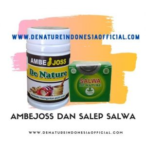 Ambejoss dan Salep Salwa - De Nature Indonesia - Rahasia Herbal Indonesia - 085888818587 087787063999