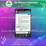 Testimoni Gonore Sipilis - De Nature Indonesi Official - Rahasia Herbal Indonesia