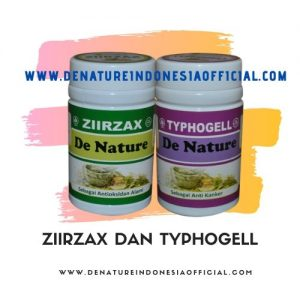 Ziirzax dan Typhogell - De Nature Indonesia - Rahasia Herbal Indonesia - 085888818587 087787063999