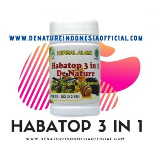 Habatop 3 In 1 - De Nature Indonesia (085888818587 - 087787063999)