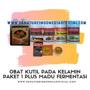 Obat Kutil Pada Kelamin Paket 1 Plus Madu Fermentasi - De Nature Indonesia - Rahasia Herbal Indonesia - 085888818587 087787063999