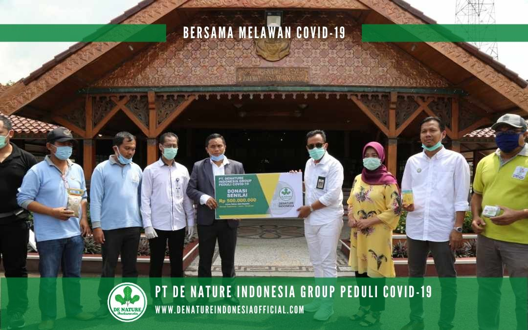 PT De Nature Indonesia Group Peduli Covid-19 (085888818587-087787063999)