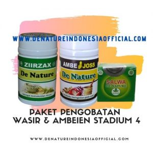 Obat Herbal Wasir Stadium 4 - De Nature Indonesia Official - Rahasia Herbal Indonesia 085888818587 087787063999